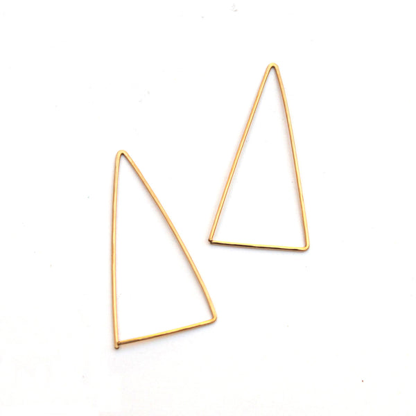 Pin Point threader hoops - Jamison Rae Jewelry
