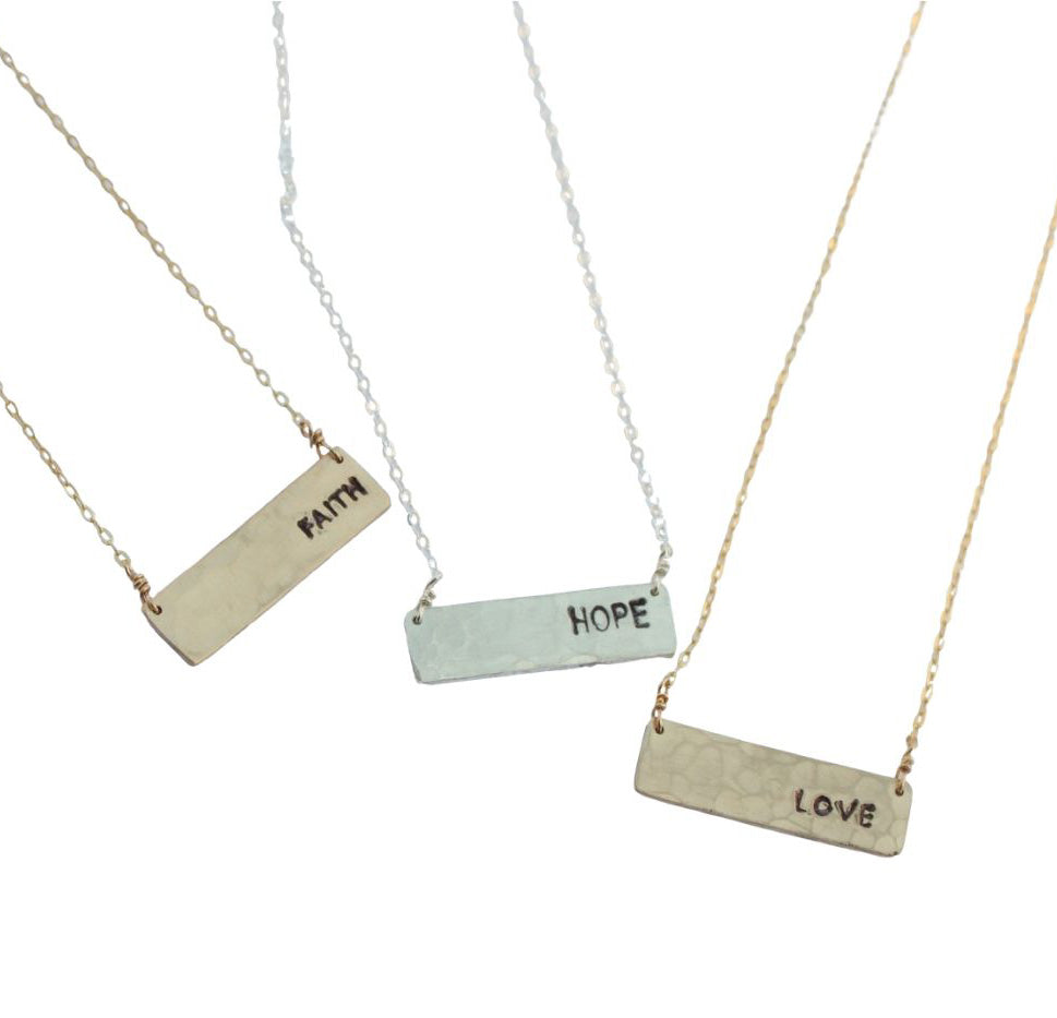 Positivity necklace - Jamison Rae Jewelry