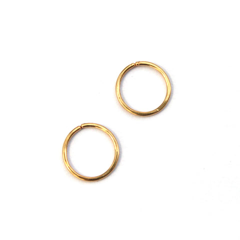 Lobe Hugger hoop earrings - Jamison Rae Jewelry