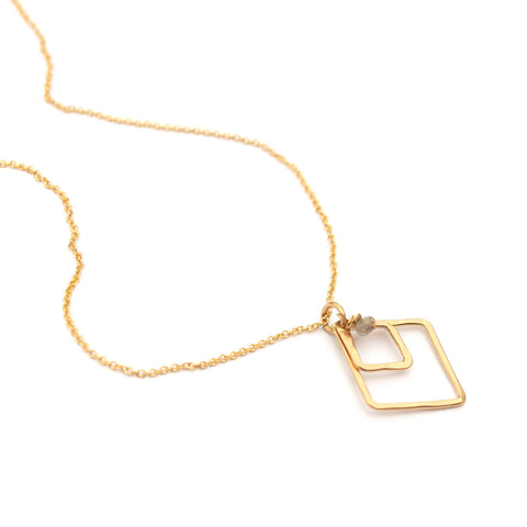 Dainty Diamonds necklace