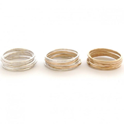 Stacking Ring Set - Jamison Rae Jewelry