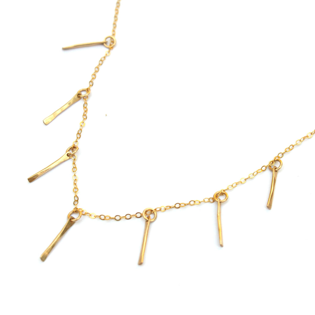 Sticks No Stones necklace