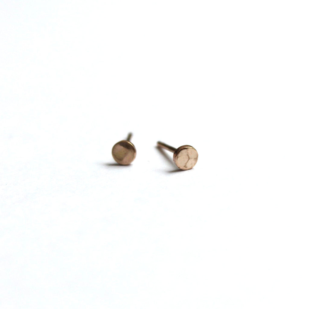 Tiny Dot post earrings