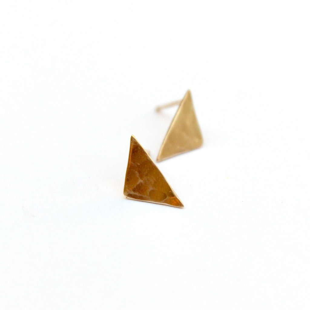 Triangular post earrings - Jamison Rae Jewelry