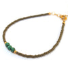 Triple Turquoise stacking bracelet - Jamison Rae Jewelry