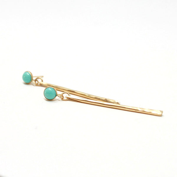 Forever Turquoise post earrings