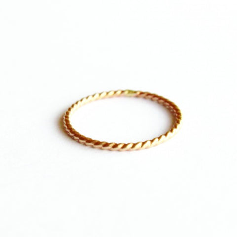 Twist ring - Jamison Rae Jewelry
