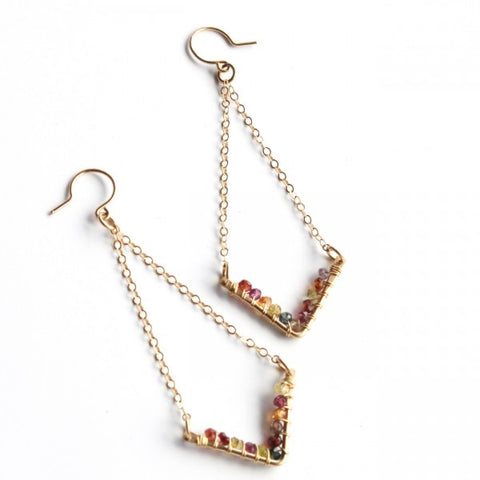 Wanderlust earrings - Jamison Rae Jewelry