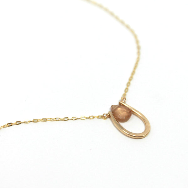 Delicate Zircon necklace