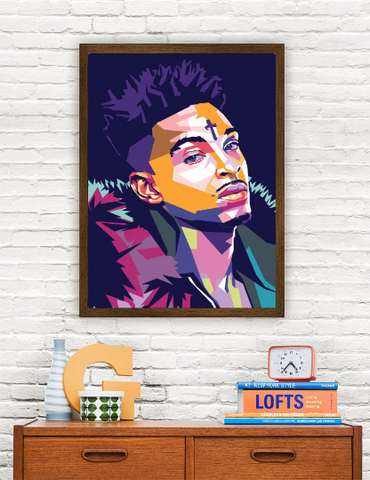 21 Savage Limited Artwork