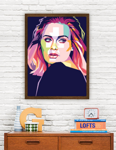 Adele Limited Artwork