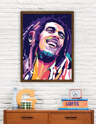 Bob Marley Limited Artwork
