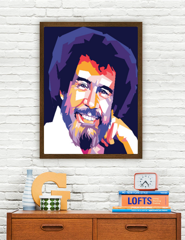 Bob Ross Limited Artwork