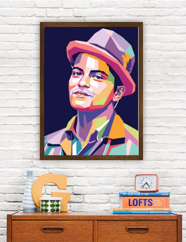 Bruno Mars Limited Artwork
