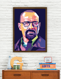 Bryan Cranston Limited Artwork