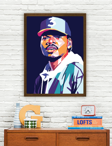 Chance The Rapper Limited Artwork