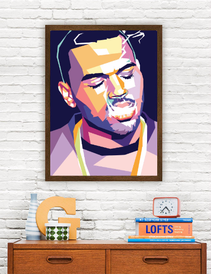 Chris Brown Limited Artwork