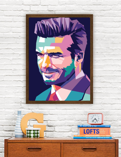 David Beckham Limited Artwork