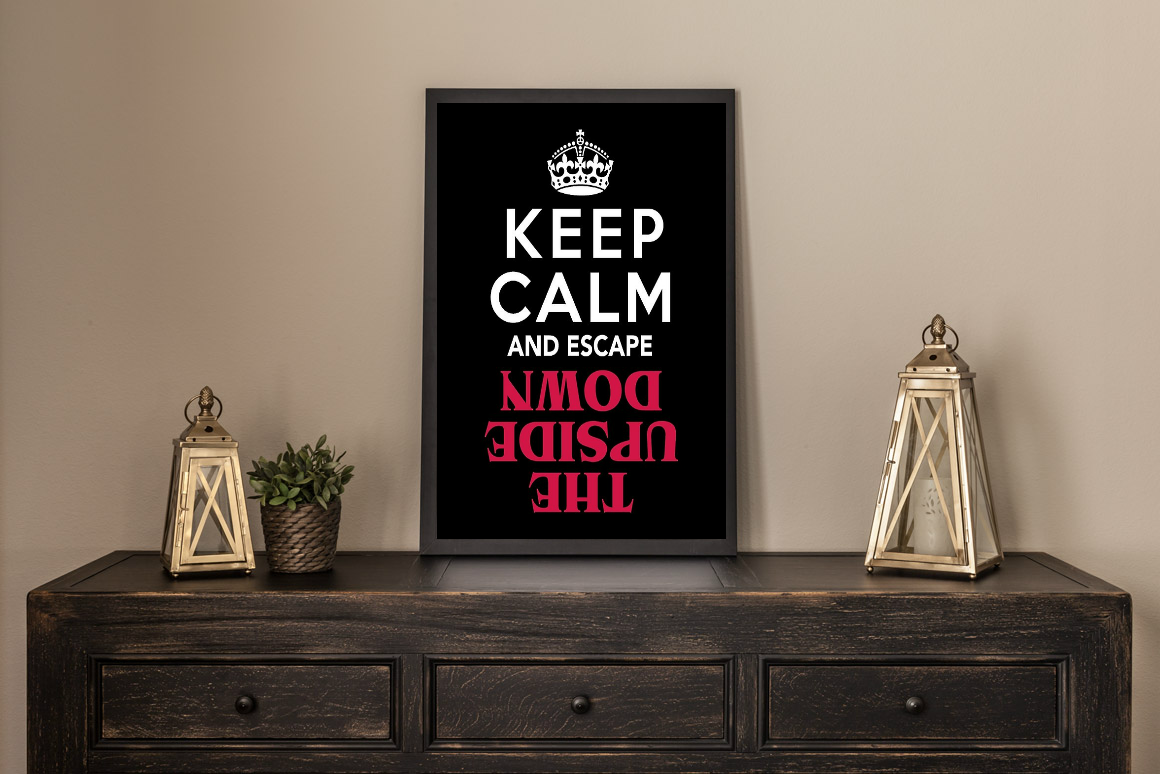 Keep Calm and Escape Artwork