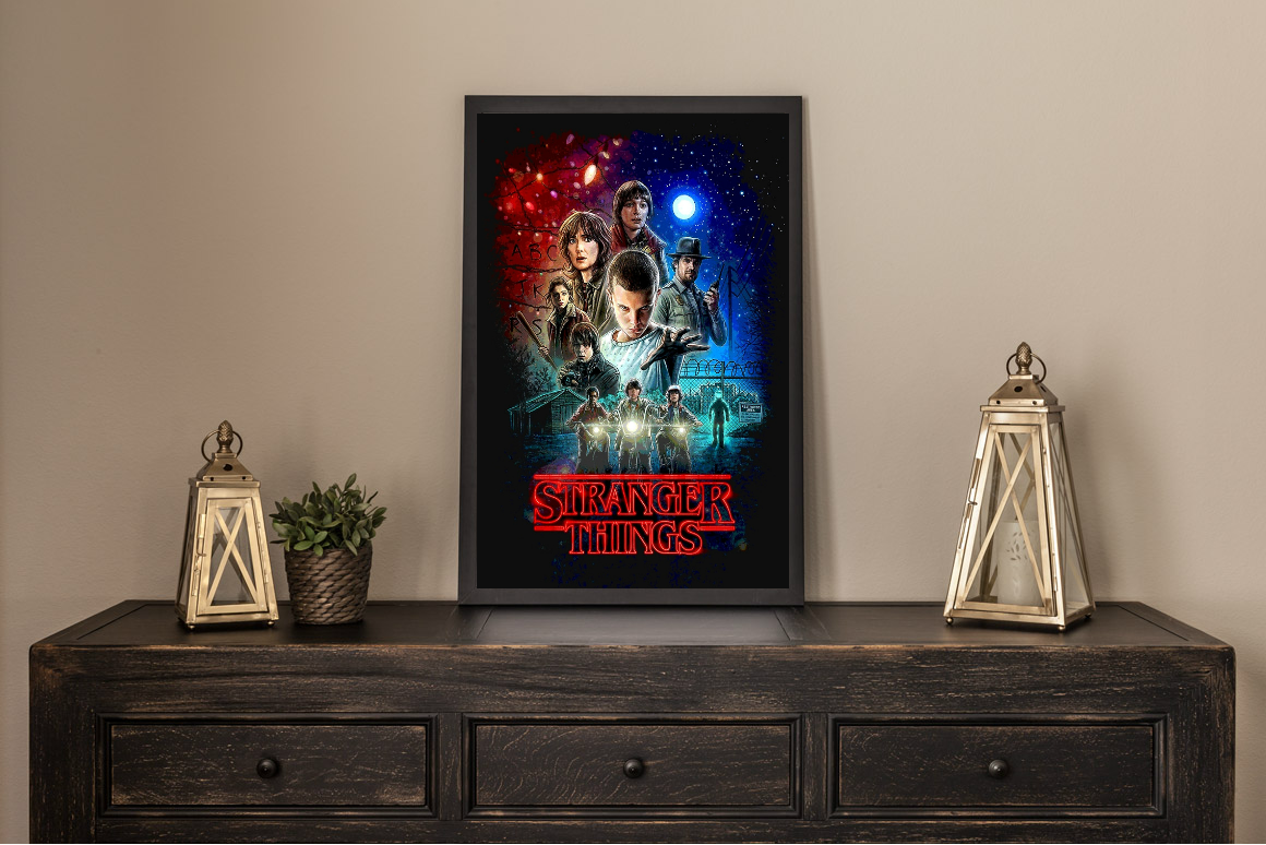Stranger Things Limited Movie Poster