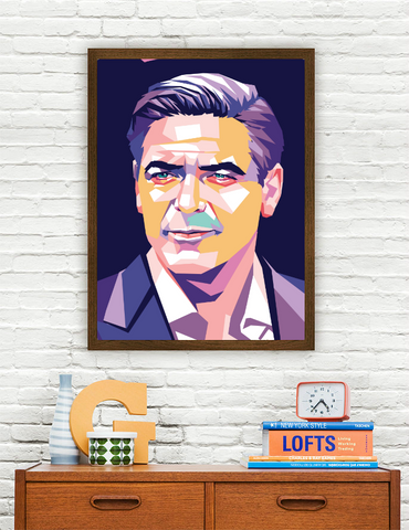 George Clooney Limited Artwork