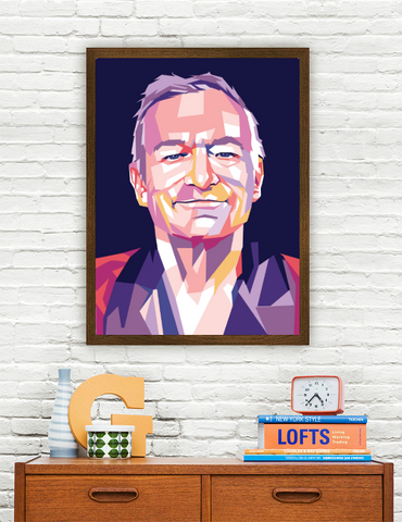 Hugh Hefner Limited Artwork
