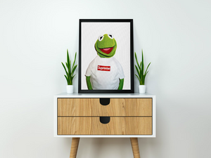 Supreme Kermit Artwork