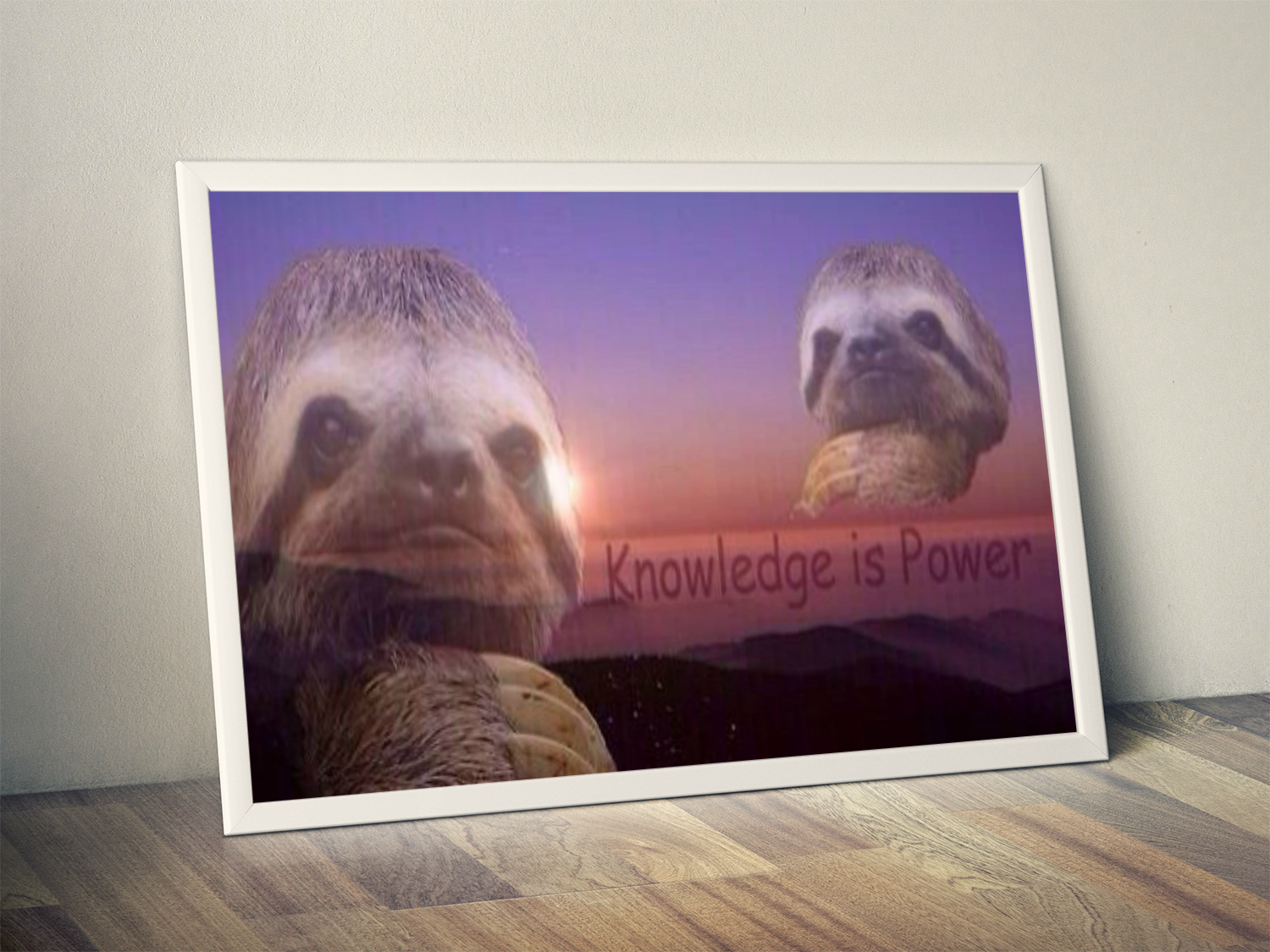 Knowledge is power Artwork