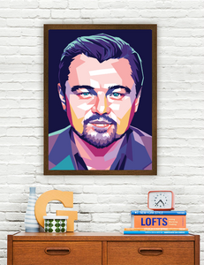 Leonardo Dicaprio Limited Artwork