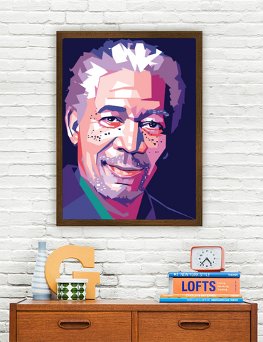 Morgan Freeman Limited Artwork
