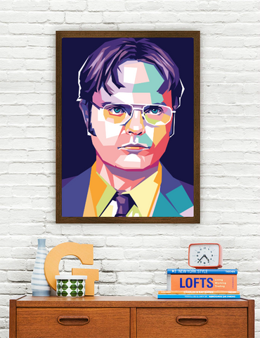 Rainn Wilson Limited Artwork