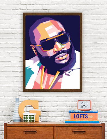 Rick Ross Limited Artwork
