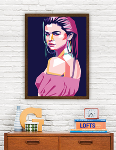 Selena Gomez Limited Artwork