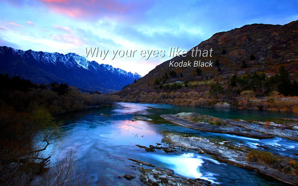 Why your eyes like that ~Kodak Black
