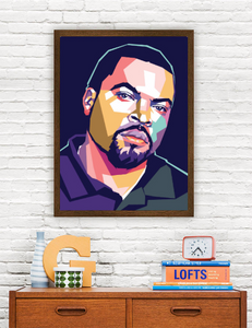 Ice Cube Limited Artwork