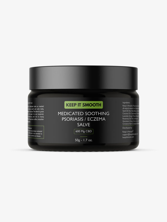 Keep it Smooth | Medicated Hemp Psoriasis/ Eczema Salve