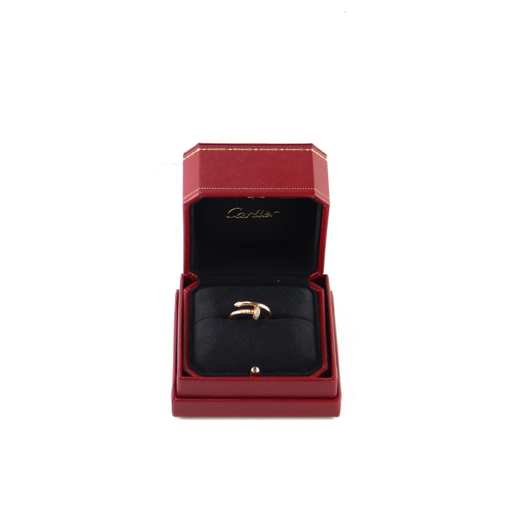 Cartier Pink Gold Juste un Clou Diamond Ring