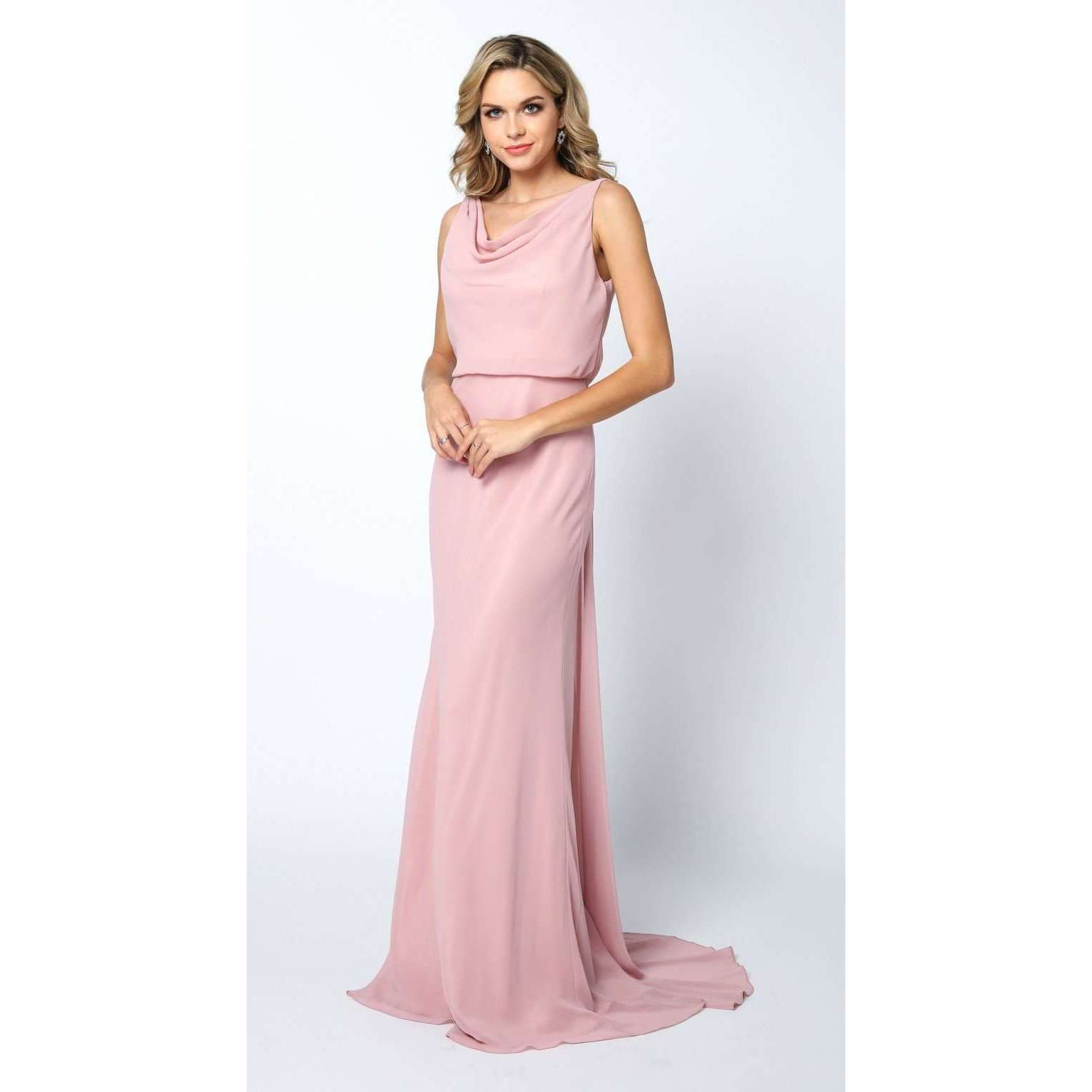 Sleeveless Formal Chiffon Prom Dress 670 - Julietdresses