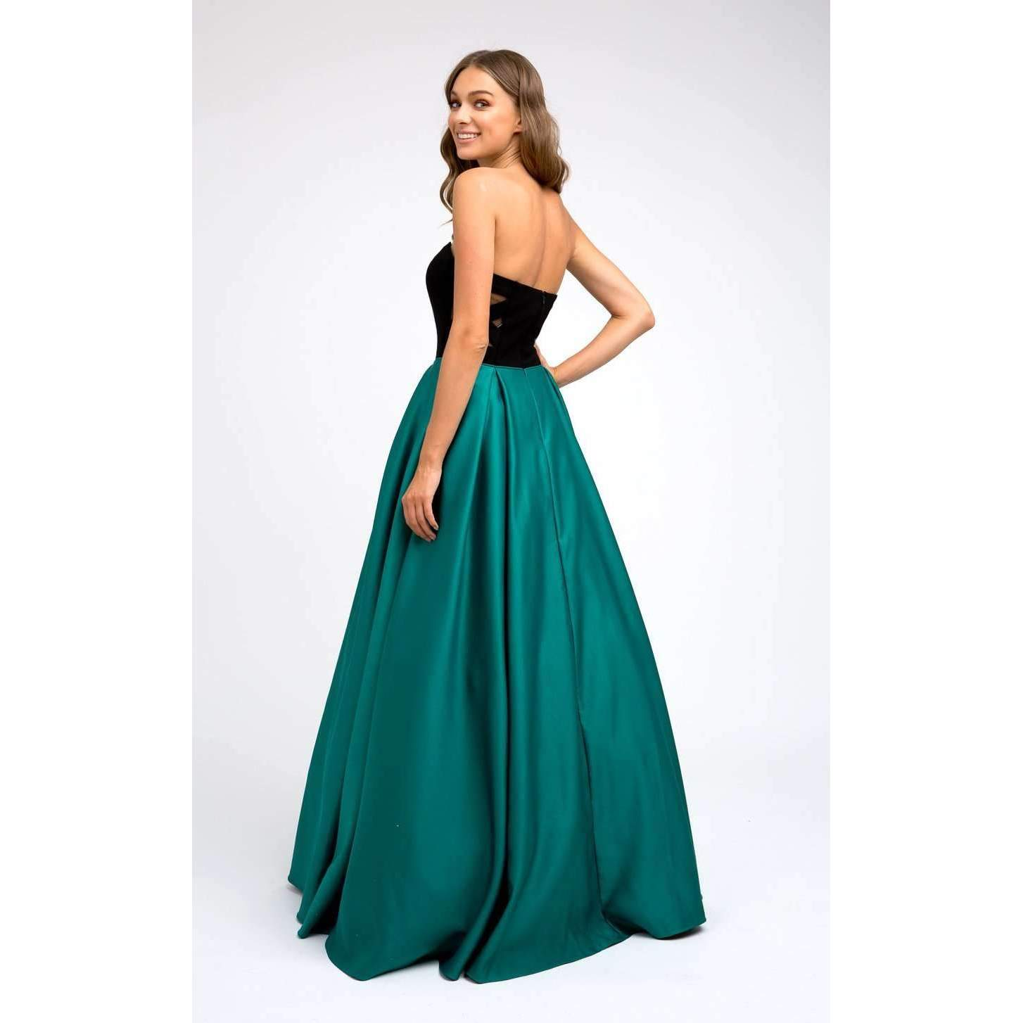 Two Tone Sweetheart Ball Gown Style Prom Dress 694 - Julietdresses