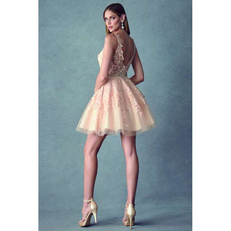Homecoming/Damas Short Dress 853