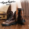 SAVAGE MILITARY BOOTS - KAWAII FASHION ADDICT Japanese Clothing Store