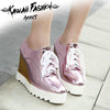 LASER HIGH HEELS MUFFIN SHOES - KAWAII FASHION ADDICT Japanese Clothing Store