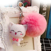 Kawaii KITTY BALL Keychain - KAWAII FASHION ADDICT Japanese Clothing Store