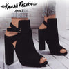 SENSUAL HIGH HEELS STRAP SHOES - KAWAII FASHION ADDICT Japanese Clothing Store