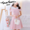 PINKY VIRGIN DRESS - KAWAII FASHION ADDICT Japanese Clothing Store