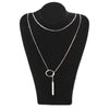 SENSUAL SILVER CHAIN NECKLACE - KAWAII FASHION ADDICT Japanese Clothing Store