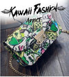 GRAFFITI HANDBAG - KAWAII FASHION ADDICT Japanese Clothing Store
