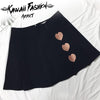 HEART MINI SKIRT - KAWAII FASHION ADDICT Japanese Clothing Store