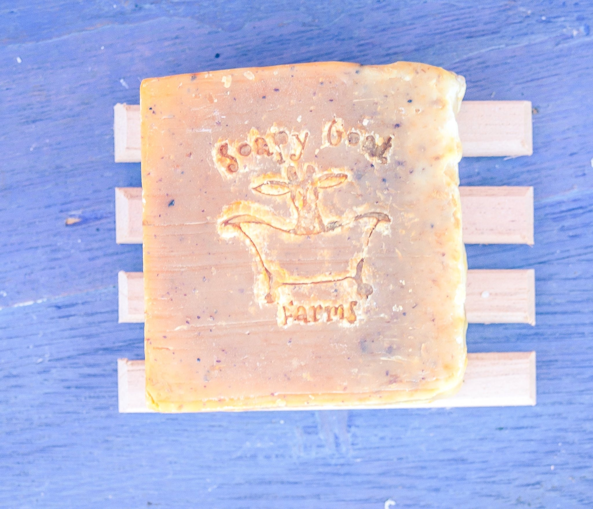 Artisan Goat's Milk Soap- Morning Sunshine