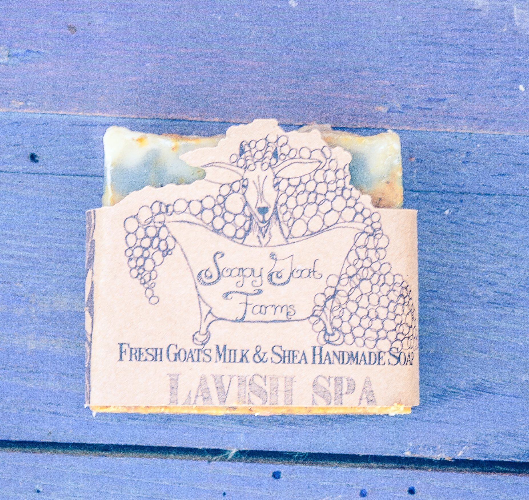 Artisan Goat's Milk Soap- Lavish Spa